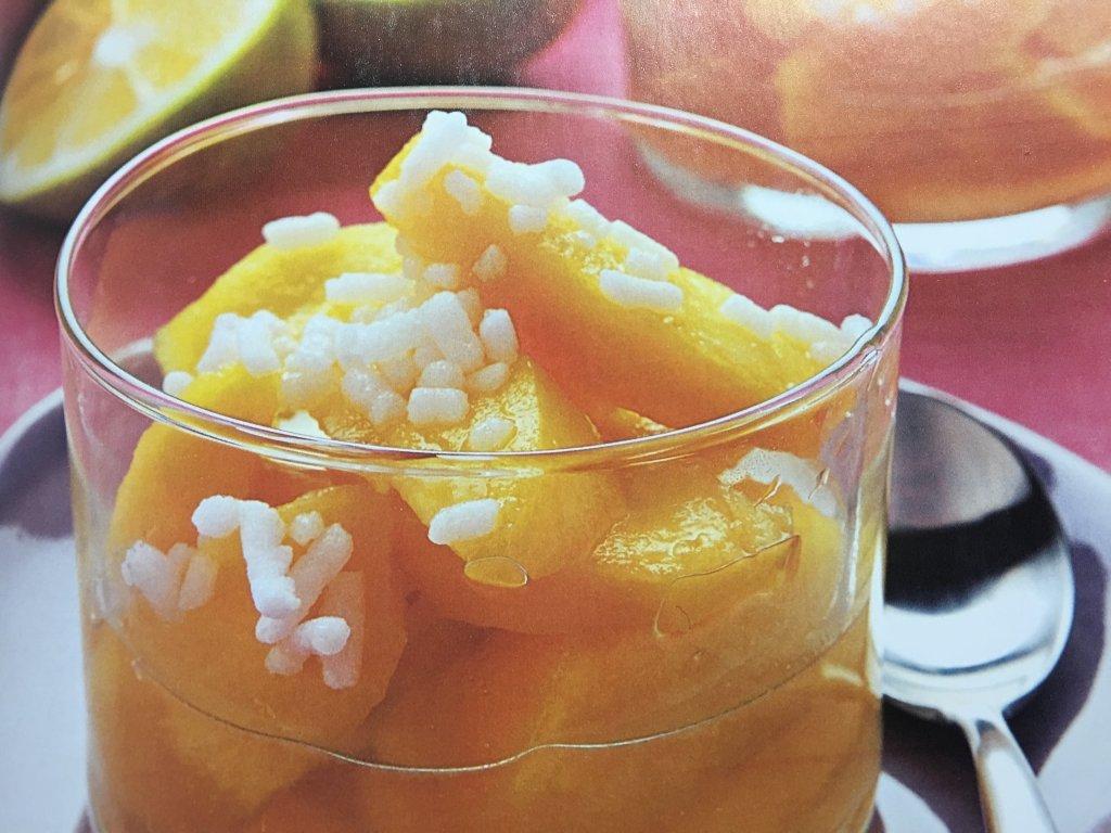 Ricetta Pesche con rosolio al limone