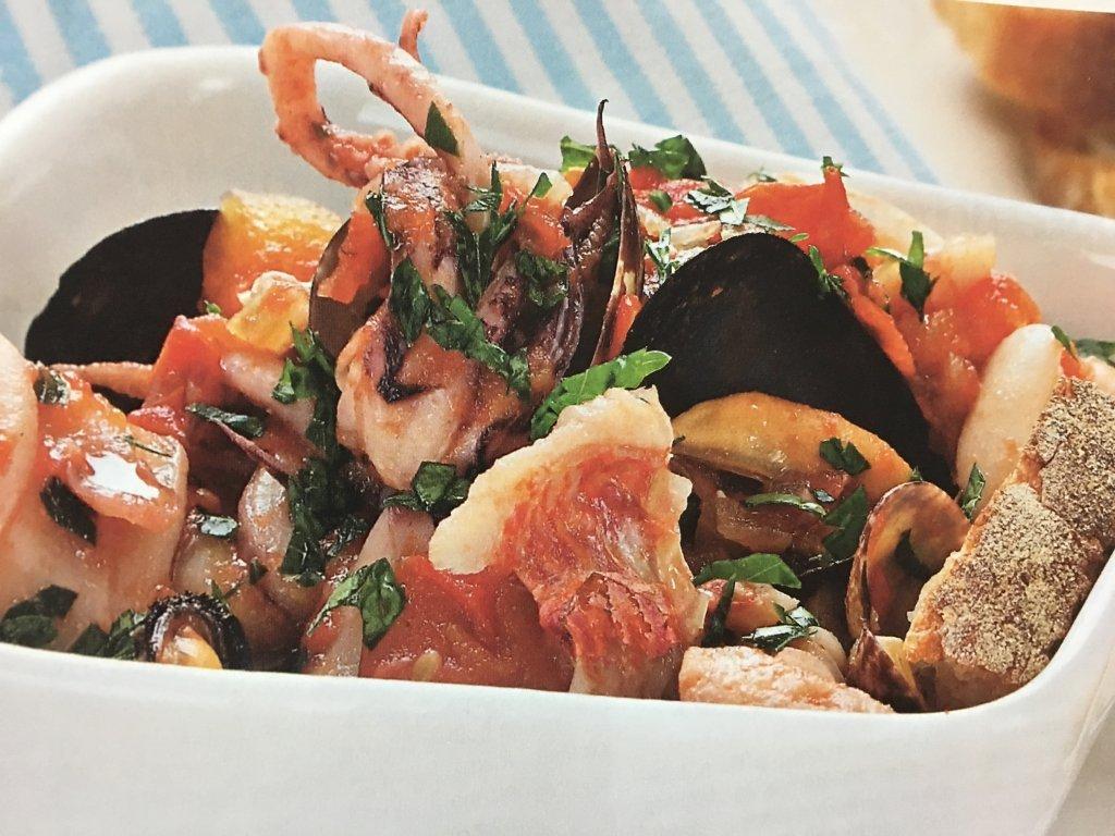 Ricetta Zuppa di pesce alla brindisina